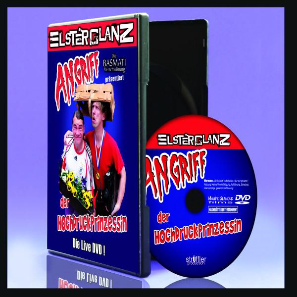 Angriff der Hochdruckprinzessin Live DVD